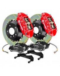 R33 Brembo GT Series Cross Drilled 2-Piece Rotor Front Big Brake Kit