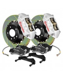 R33 Brembo GT Series Slotted 2-Piece Rotor Rear Big Brake Kitl