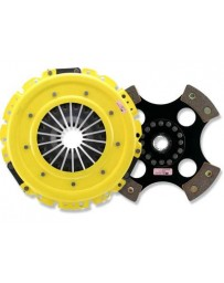R32 ACT XT Pressure Plate with Race Rigid 4-Pad Clutch Disc