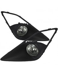 Toyota GT86 Spyder Fog Lights Black/Smoke