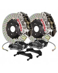 R32 Brembo GT-R Series Cross Drilled 2-Piece Rotor Rear Big Brake Kit
