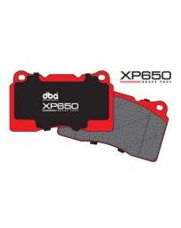 370z DBA Brake Pads - XP650 Track/Heavy Load Performance Brake Pads