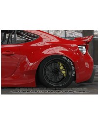 Toyota GT86 GReddy Rocket Bunny V2 Rear Fenders