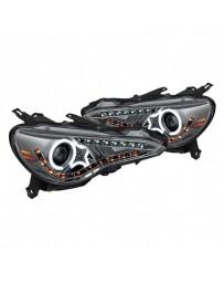Toyota GT86 Spyder Chrome/Smoke CCFL Halo Projector LED Headlights