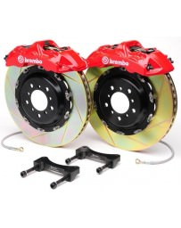 "370z Brembo Front Monotblock 380x32mm 15"" 6-Piston Big Brake Kit - Slotted"