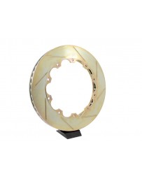 R35 GT-R Brembo Replacement 2 Piece Disc Rotor, Slotted LH - 355x32