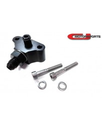 370z CJ Motorsports Fuel Tap -6an, 2-Bolt