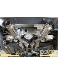 """350z AAM Competition 3"""" MaxFlow True Dual Exhaust"""