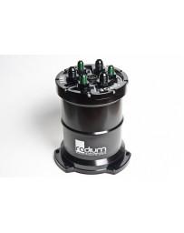 370z Radium Engineering Walbro 400 (E85) Pump Fuel Surge Tank (Pump Incl)