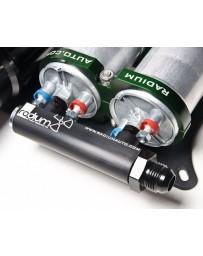 370z Radium Engineering 4-Port Manifold, Black with Logo - Bosch
