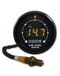 370z Innovate Motorsports 3844 MTX-L Air / Fuel Ratio Gauge Kit with O² Sensor, All in One - 8ft Cable