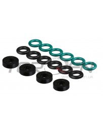 350z HR Nissan OEM Upper & Lower Fuel Injector O-Ring Seal Kit with Lower Insulators 07-08