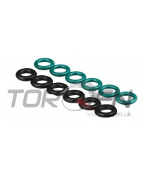 350z HR Nissan OEM Upper & Lower Fuel Injector O-Ring Seal Kit 07-08