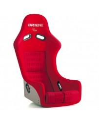 370z Bride Zieg III Bucket Seat, Red Logo CFRP Carbon Fiber - Low Max System