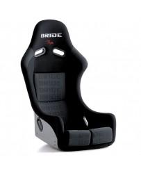 370z Bride Zieg III Bucket Seat, Black Logo CFRP Carbon Fiber - Low Max System