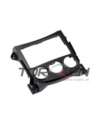 370z Nissan OEM Radio / Gauge Bezel Cover Finisher, Non-Navigation