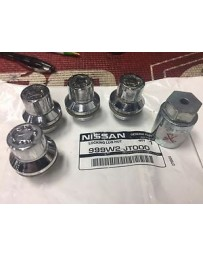 370z Nissan OEM Wheel Locks 4-Piece Set