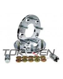 370z Project Kics Bolt-On M12x1.25 Wheel Spacers Pair 5x114.3, 10-30mm