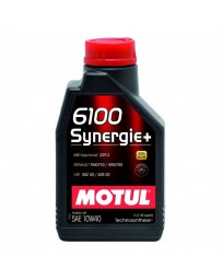 370z Motul 6100 SYNERGIE+ 10W40 Synthetic Blend Engine Oil - 1 Liter