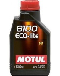 370z Motul 8100 ECO-LITE 0W20 Synthetic Engine Oil - 1 Liter