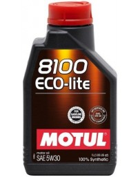 370z Motul 8100 ECO-LITE 5W30 Synthetic Engine Oil - 1 Liter