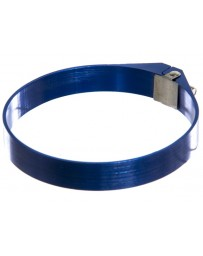 "370z P2M Aluminum 2.75"" Hose Clamp, Blue"