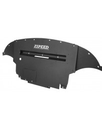 370z Z Speed Performance ZSP Aluminum Engine Cover Under Panel Diffuser, Nismo Model 09-14, Black