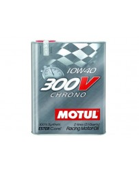370z Motul 300V Chrono 10W40 Racing Motor Oil 2 Liter Can