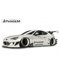 Toyota GT86 Complete Pandem V3 Widebody Aero Kit (with no wing options)