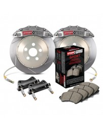StopTech 6pot Trophy Slotted Front Brake Kit