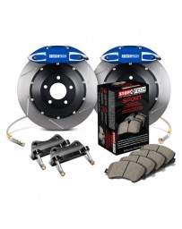 350z StopTech 4Pot Rear Big Brake Kit - Blue/Slotted