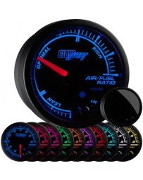 350z GlowShift Elite 10 Color Air / Fuel Ratio Gauge