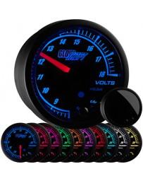370z GlowShift Elite 10 Color Volt Gauge