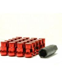 350z Muteki SR35 Close End Lug Nuts with Lock Set 35mm 12x1.25