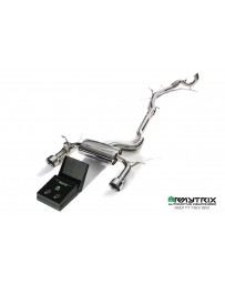 ARMYTRIX Stainless Steel Valvetronic Catback Exhaust System Dual Chrome Silver Tips Audi TT MKIII Quattro 2014+ (8S) 2.0 TFSI
