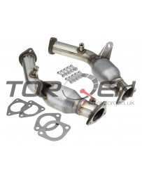 350z HR Berk Technology Metallic Substrate High Flow Cat