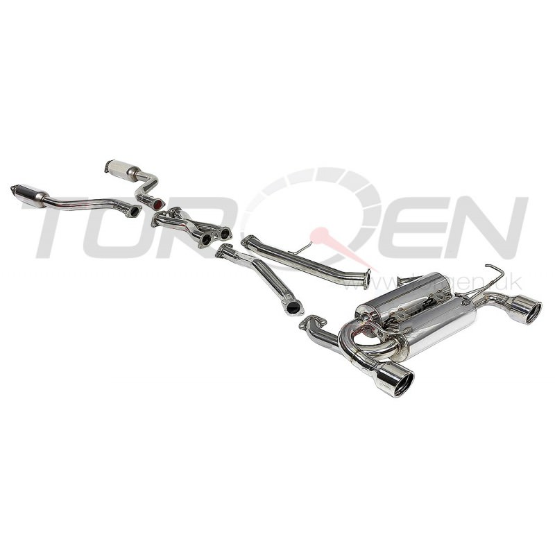 350z Invidia Gemini Cat-Back Exhaust System