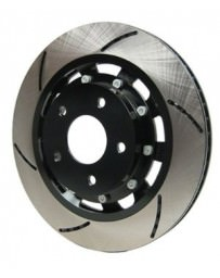 370z Akebono Racing Brake Two-Piece Slotted Rotor Sport Model, Rear
