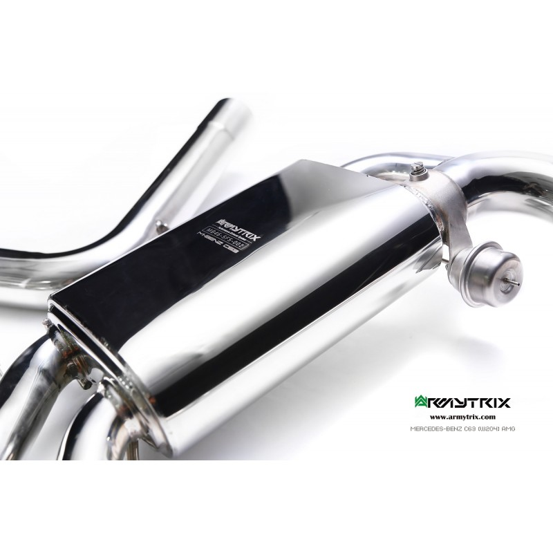 ARMYTRIX Stainless Steel Valvetronic Catback Exhaust Quad