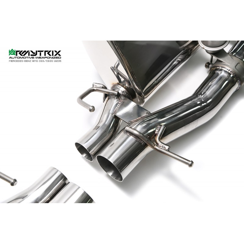 ARMYTRIX Stainless Steel Valvetronic Catback Exhaust System