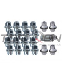 370z Nissan OEM Wheel Lug Nuts 16-piece & 4-Piece Locks Set