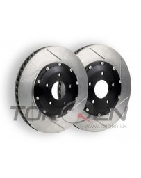 350z Stoptech AeroRotor Direct Replacement, Brembo Slotted - Front