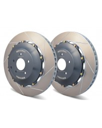 R35 GT-R Girodisc Rear 2-Piece Rotors Pair
