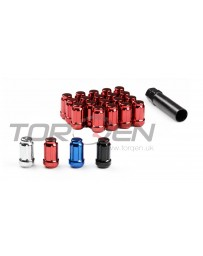 370z TORQEN Splined Lug Nut Set, 12x1.25mm 20 Pack with Key - Open
