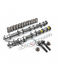 370z Jim Wolf Technology JWT Complete Exhaust Camshaft Kit with Springs & Deep Threaded Bolts, VQ37VHR