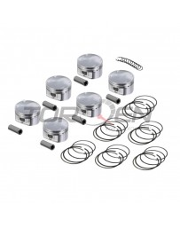 370z JE Piston Set, 8.5:1, 10:1, or 11.5:1, 95.5mm or 96mm,
