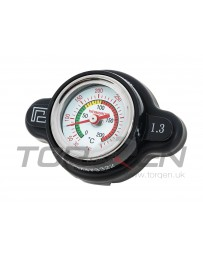 370z P2M Radiator Gauge Cap with Temp Reading, 1.3 BAR