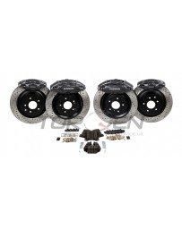 370z Akebono Big Brake Kit, Front and Rear 14""