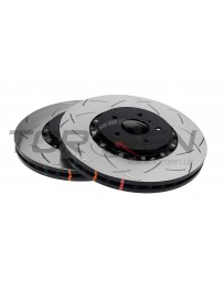 370z DBA 5000 T3 Series 2 Piece Slotted Rotor Set Front 2pc, Sport Akebono
