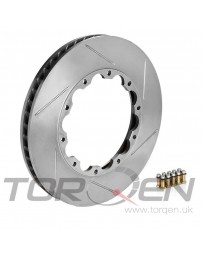 350z Stoptech 30.646.1121 Replacement AeroRotor Disc for 81.646.9912 Rotor Set,Slotted 322x22mm Brembo LH Rear
